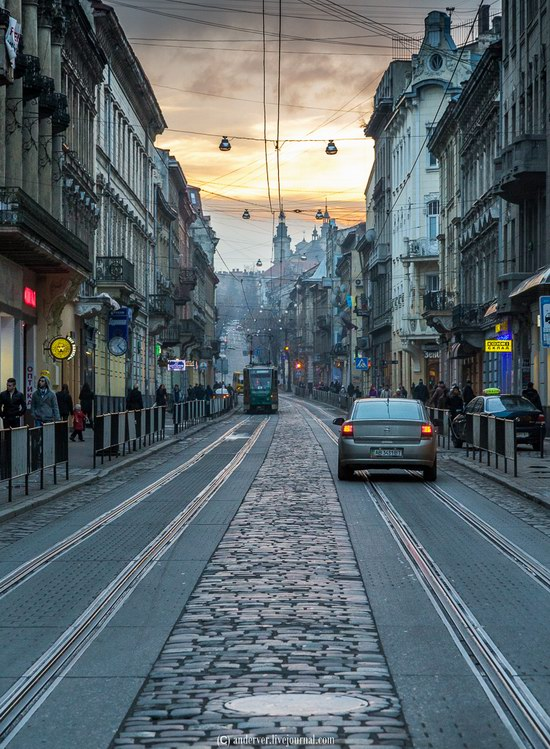 Beautiful architecture of Lviv, Ukraine, photo 21