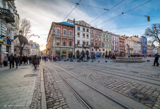 Beautiful architecture of Lviv, Ukraine, photo 4