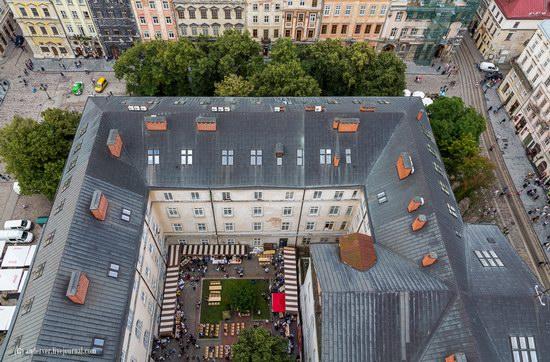 Beautiful architecture of Lviv, Ukraine, photo 7
