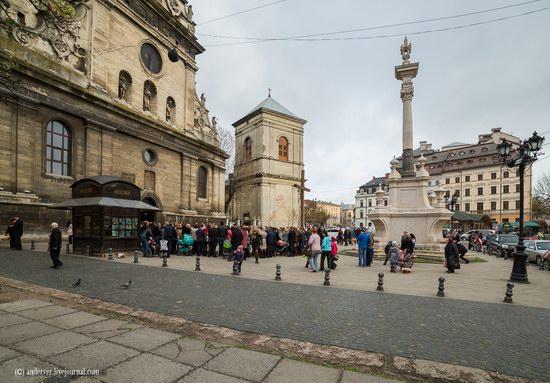 Beautiful architecture of Lviv, Ukraine, photo 9