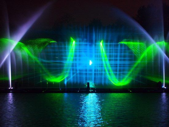 Unique light and music fountain in Vinnitsa, Ukraine, photo 13