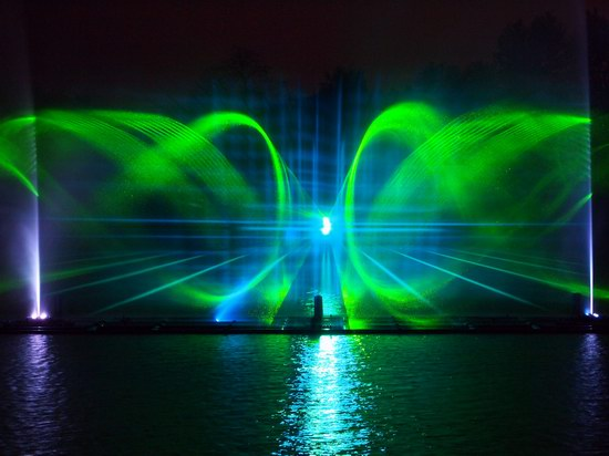 Unique light and music fountain in Vinnitsa, Ukraine, photo 14