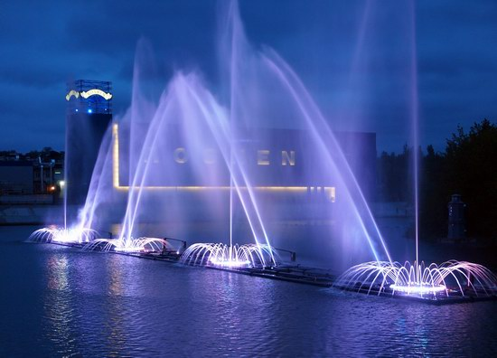 Unique light and music fountain in Vinnitsa, Ukraine, photo 4