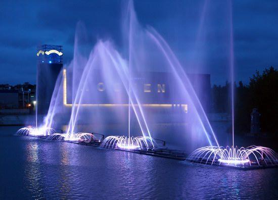 Unique light and music fountain in Vinnitsa, Ukraine, photo 4