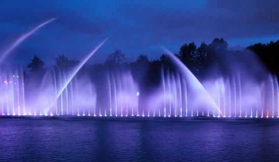 Unique light and music fountain in Vinnitsa, Ukraine, photo 6
