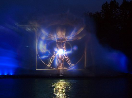 Unique light and music fountain in Vinnitsa, Ukraine, photo 7