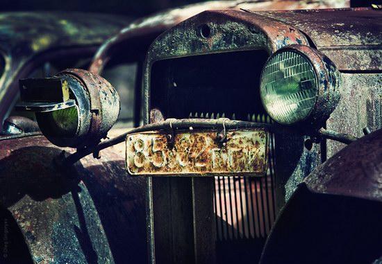 Abandoned vintage cars, Ukraine, photo 7