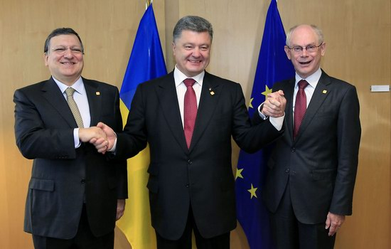 Ukraine and the EU signed the association agreement