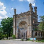 Abandoned Moorish palace near Odessa
