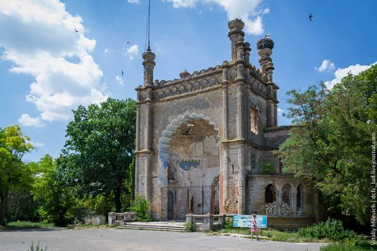 Abandoned Moorish palace near Odessa, Ukraine, photo 1