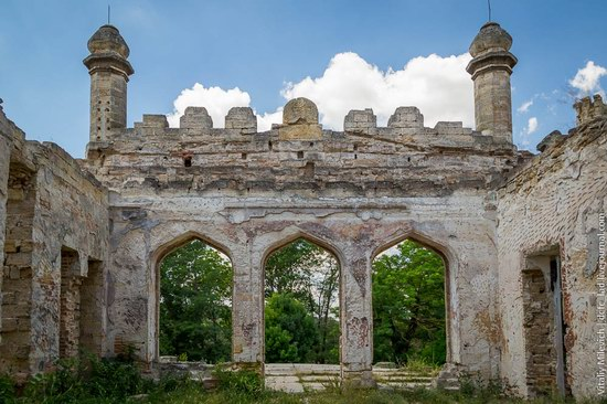 Abandoned Moorish palace near Odessa, Ukraine, photo 10