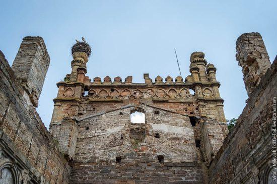 Abandoned Moorish palace near Odessa, Ukraine, photo 12