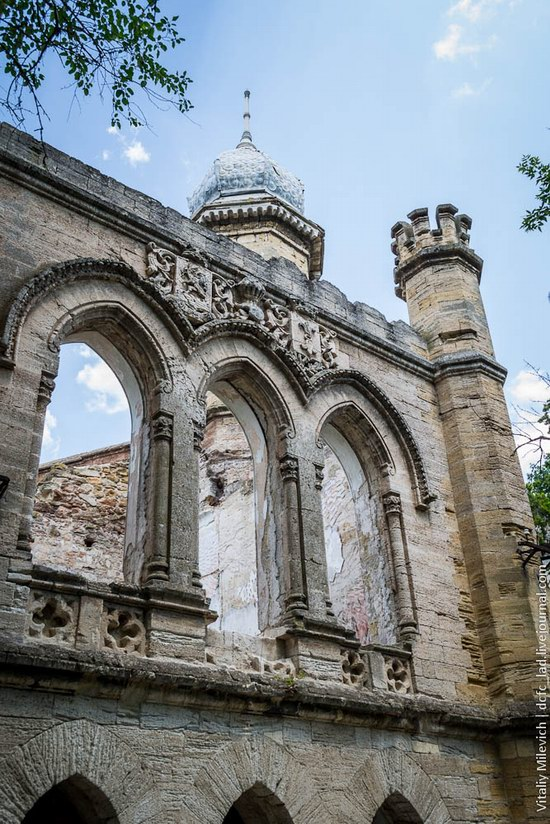 Abandoned Moorish palace near Odessa, Ukraine, photo 18