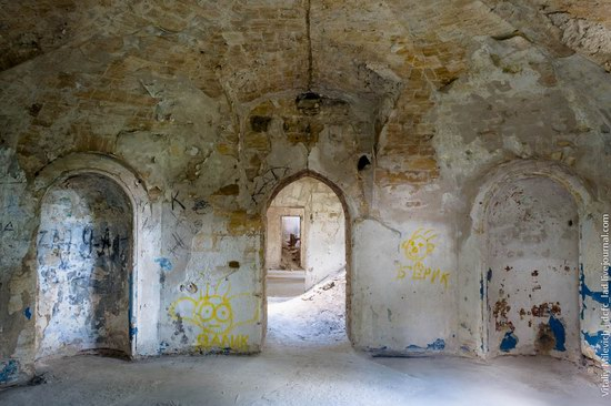 Abandoned Moorish palace near Odessa, Ukraine, photo 21