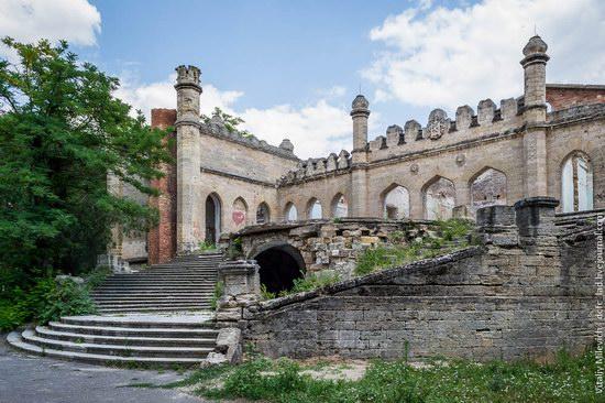 Abandoned Moorish palace near Odessa, Ukraine, photo 3