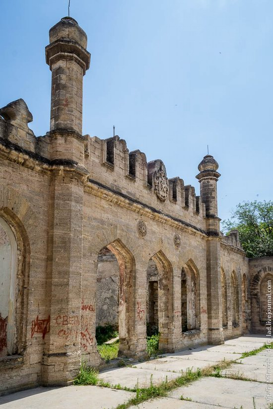 Abandoned Moorish palace near Odessa, Ukraine, photo 5