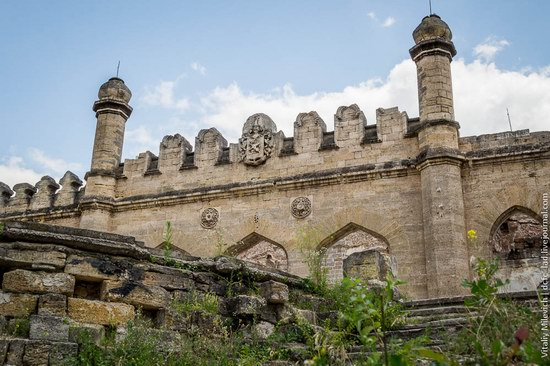 Abandoned Moorish palace near Odessa, Ukraine, photo 8