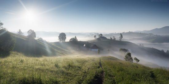 Misty landscapes, the Carpathians, Ukraine, photo 1