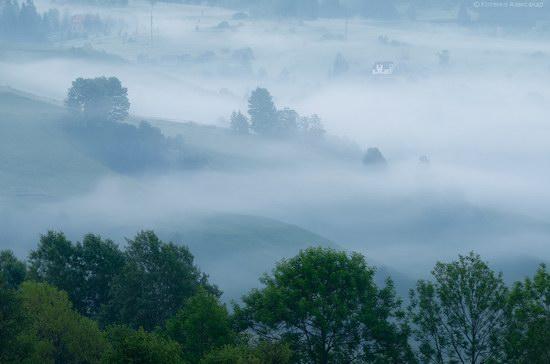 Misty landscapes, the Carpathians, Ukraine, photo 10