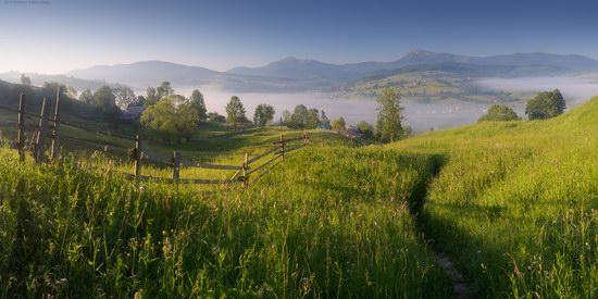 Misty landscapes, the Carpathians, Ukraine, photo 11