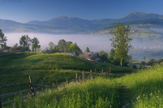 Misty landscapes, the Carpathians, Ukraine, photo 12