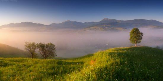 Misty landscapes, the Carpathians, Ukraine, photo 2