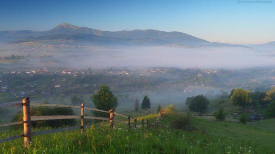 Misty landscapes, the Carpathians, Ukraine, photo 3