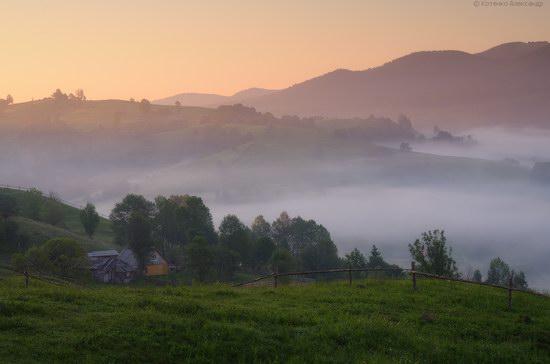 Misty landscapes, the Carpathians, Ukraine, photo 4