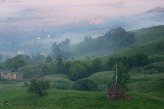 Misty landscapes, the Carpathians, Ukraine, photo 5