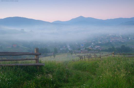 Misty landscapes, the Carpathians, Ukraine, photo 9