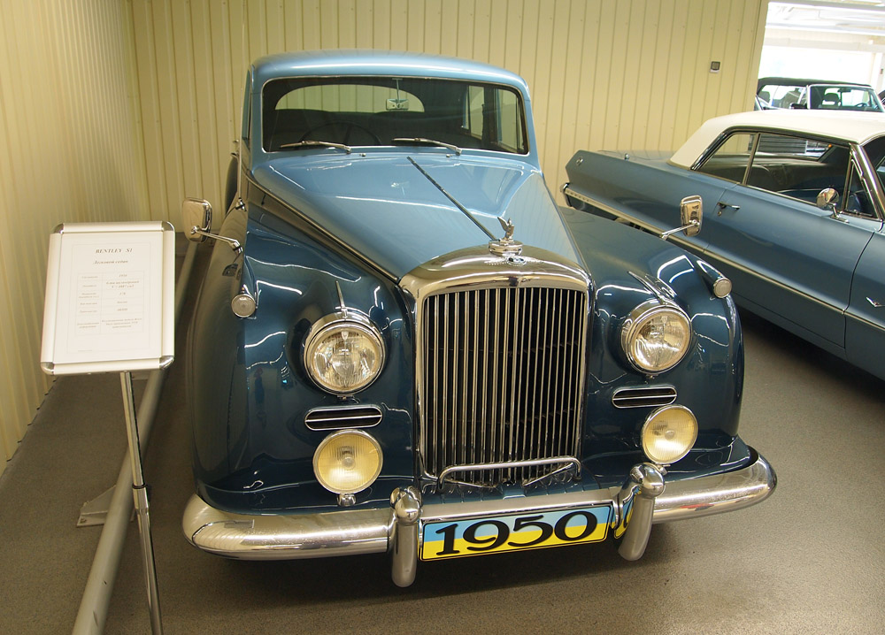 Collection of vintage cars of the former President of Ukraine ...