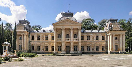 Badeni palace, Koropets, Ukraine, photo 2