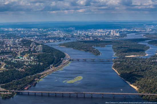 Bird's eye view of Kyiv, Ukraine, photo 1