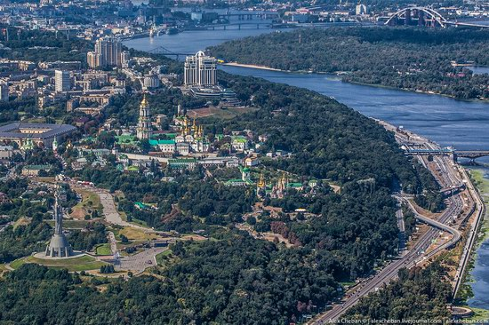Bird's eye view of Kyiv, Ukraine, photo 10
