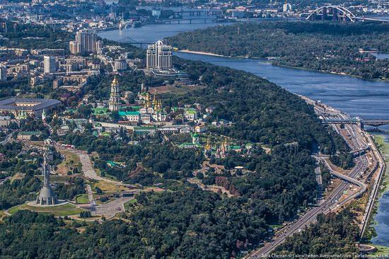 Bird's eye view of Kyiv, Ukraine, photo 10
