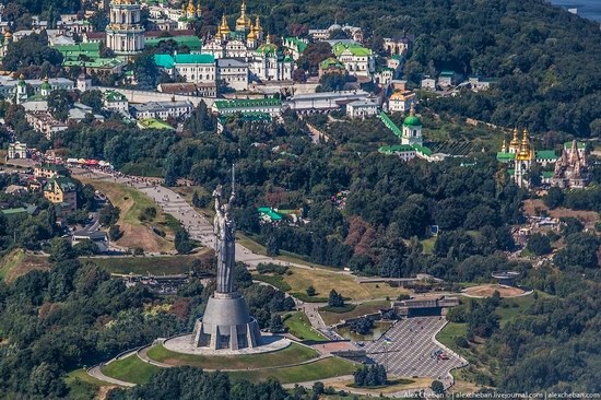 Bird's eye view of Kyiv, Ukraine, photo 11