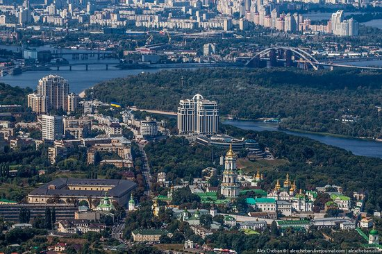Bird's eye view of Kyiv, Ukraine, photo 12