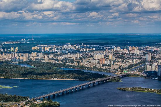 Bird's eye view of Kyiv, Ukraine, photo 13
