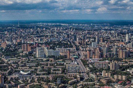 Bird's eye view of Kyiv, Ukraine, photo 14
