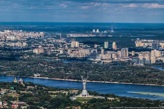 Bird's eye view of Kyiv, Ukraine, photo 15