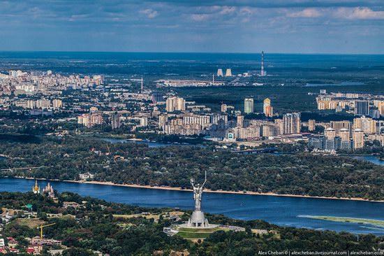 Bird's eye view of Kyiv, Ukraine, photo 15