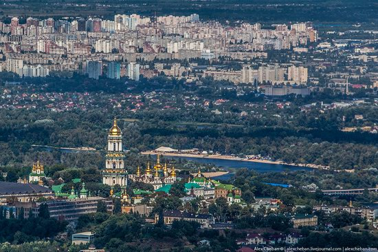 Bird's eye view of Kyiv, Ukraine, photo 16