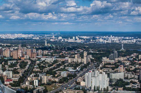 Bird's eye view of Kyiv, Ukraine, photo 17