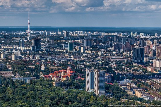 Bird's eye view of Kyiv, Ukraine, photo 18