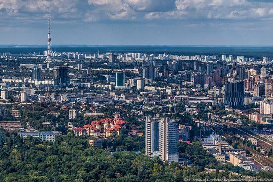 Bird's eye view of Kyiv, Ukraine, photo 18