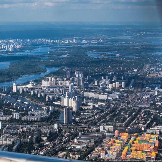 Bird's eye view of Kyiv, Ukraine, photo 2