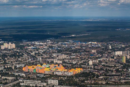 Bird's eye view of Kyiv, Ukraine, photo 3