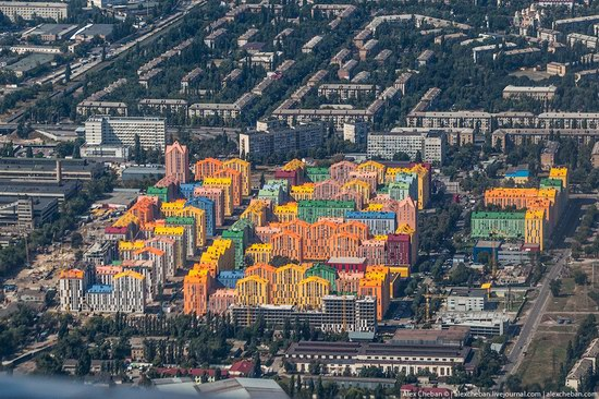 Bird's eye view of Kyiv, Ukraine, photo 4