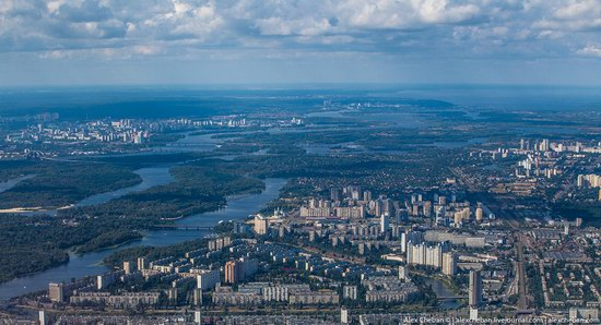 Bird's eye view of Kyiv, Ukraine, photo 5
