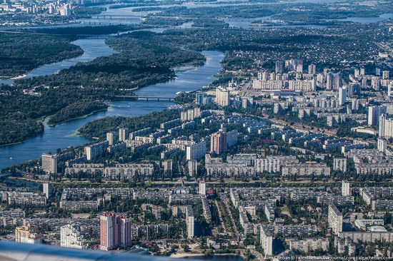 Bird's eye view of Kyiv, Ukraine, photo 6